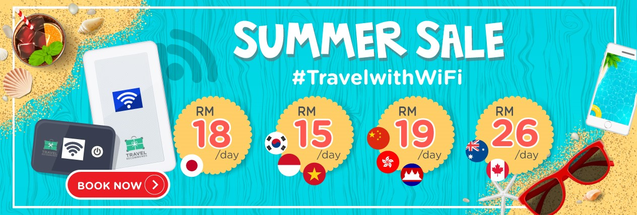 Travel Recommends Summer Sale