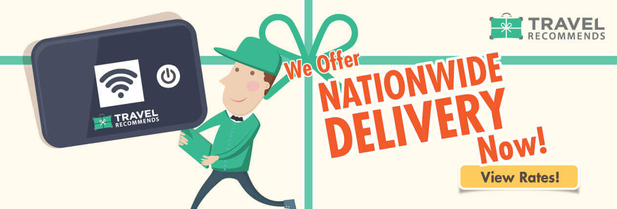 We offer nationwide delivery now!