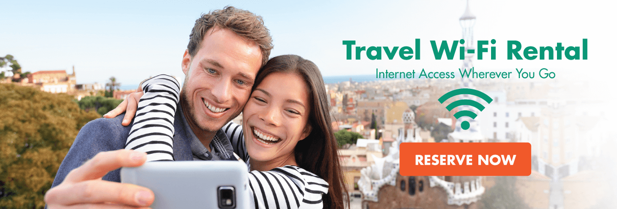 Travel Wi-Fi Router Rental - Internet Access Wherever You Go