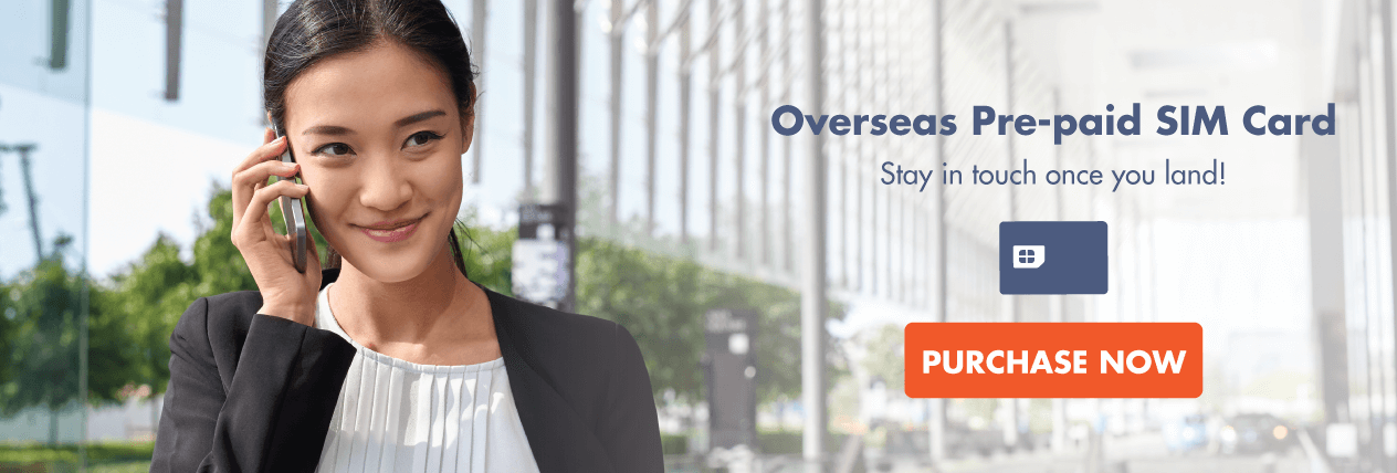 Overseas Prepaid SIM Card - Stay In Touch Once You Land!